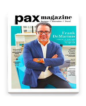 PAX magazine English cover